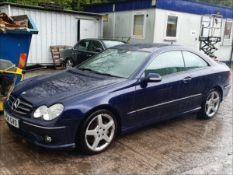 09/58 MERCEDES CLK320 CDI SPORT AUTO - 2987cc 2dr Coupe (Blue, 185k)