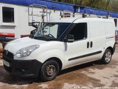 12/61 FIAT DOBLO 16V MULTIJET - 1248cc 5dr Van (White, 84k)