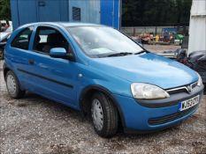 03/53 VAUXHALL CORSA CLUB 12V - 973cc 3dr Hatchback (Blue, 118k)