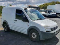 09/09 FORD TRANSIT CONN T200 75 - 1753cc 4dr Van (White, 96k)