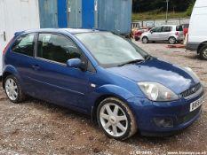 08/58 FORD FIESTA ZETEC BLUE 80 - 1388cc 3dr Hatchback (Blue, 118k)