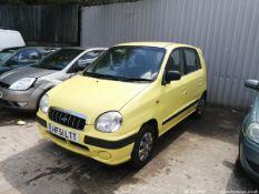 01/51 HYUNDAI AMICA SI - 999cc 5dr Hatchback (Yellow, 55k)