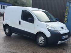 10/59 PEUGEOT BIPPER S HDI - 1399cc 5dr Van (White, 110k)
