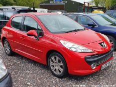 08/08 PEUGEOT 207 SPORT HDI 110 - 1560cc 5dr Hatchback (Red, 101k)
