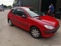 05/05 PEUGEOT 206 INDEPENDENCE - 1124cc 3dr Hatchback (Red, 95k)