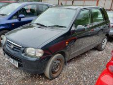 05/54 SUZUKI ALTO GL - 1061cc 5dr Hatchback (Black, 77k)