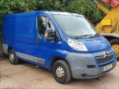 10/10 CITROEN RELAY 33 HDI 100 SWB - 2198cc Van (Blue)