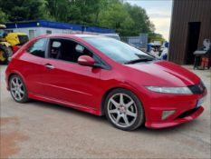 08/58 HONDA CIVIC TYPE-R GT I-VTEC - 1998cc 3dr Hatchback (Red, 75k)