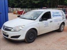 09/09 VAUXHALL ASTRA CLUB CDTI - 1248cc 3dr Van (White, 220k)