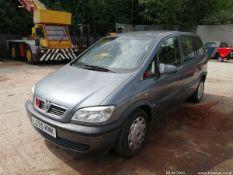 05/05 VAUXHALL ZAFIRA LIFE 16V AUTO - 1796cc 5dr MPV (Grey)