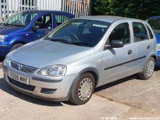 05/05 VAUXHALL CORSA LIFE TWINPORT - 1229cc 5dr Hatchback (Silver, 81k)