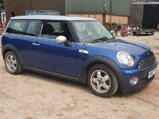 07/57 MINI COOPER AUTO CLUBMAN - 1598cc 5dr Estate (Blue, 138k)
