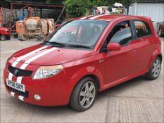 08/08 PROTON SAVVY STYLE - 1149cc 5dr Hatchback (Red, 35k)