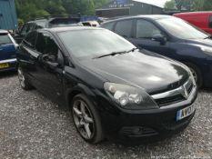 07/07 VAUXHALL ASTRA SRI - 1796cc 3dr Hatchback (Black)