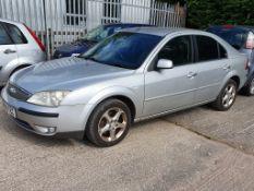 04/04 FORD MONDEO GHIA TDCI - 1998cc 5dr Hatchback (Silver, 190k)