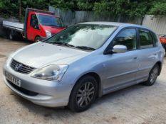 04/04 HONDA CIVIC SE - 1590cc 5dr Hatchback (Silver, 99k)