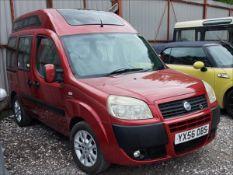 06/56 FIAT DOBLO DYNAMIC - 1368cc 5dr MPV (Red, 189k)