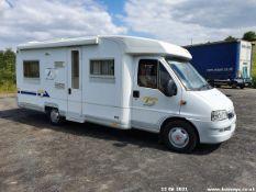03/53 FIAT DUCATO - 2800cc Motor Caravan (White, 12k)