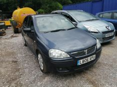 06/06 VAUXHALL CORSA SXI+ CDTI - 1248cc 5dr Hatchback (Blue, 45k)