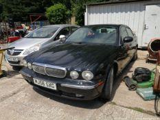 07/56 JAGUAR XJ6 V6 AUTO - 2967cc 4dr Saloon (Black)