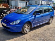 04/54 PEUGEOT 307 S HDI 90 - 1997cc 5dr Estate (Blue, 136k)