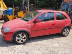 04/54 VAUXHALL CORSA ENERGY TWINPORT - 998cc 3dr Hatchback (Red, 61k)