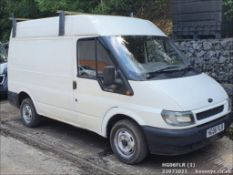 06/06 FORD TRANSIT 280 SWB - 1998cc Van (White, 151k)