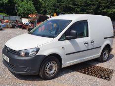 12/12 VOLKSWAGEN CADDY C20 TDI 75 - 1598cc Van (White, 79k)