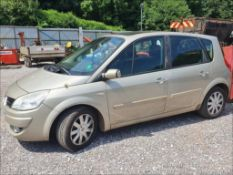 08/08 RENAULT SCENIC DYN DCI 106 - 1461cc 5dr MPV (Gold)