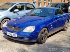 2000 MERCEDES SLK 230 KOMPRESSOR AUTO - 2295cc 2dr Coupe (Blue, 90k)