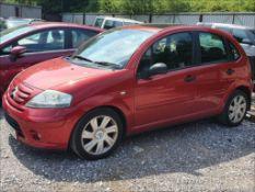 07/57 CITROEN C3 SX AUTO - 1587cc 5dr Hatchback (Red, 85k)