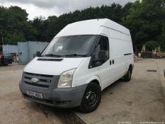 07/07 FORD TRANSIT 110 T350L FWD - 2198cc 5dr Van (White, 162k)