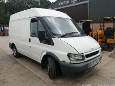 02/52 FORD TRANSIT 280 SWB TD - 1998cc 5dr Van (White)