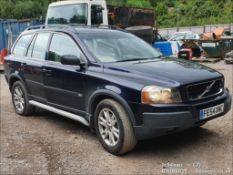 04/54 VOLVO XC 90 D5 SE AWD SEMI-AUTO - 2401cc 5dr Estate (Blue, 151k)