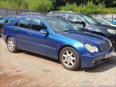 03/53 MERCEDES C270 CDI ELEGANCE SE AUTO - 2685cc 4dr Saloon (Blue, 135k)