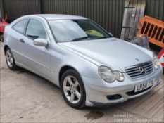 05/55 MERCEDES C200 CDI SE AUTO - 2148cc 3dr Coupe (Silver)