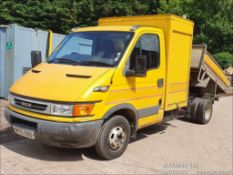 06/55 IVECO DAILY 50 C13 - 2800cc 2dr Tipper (Yellow, 245k)