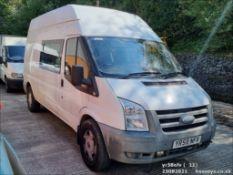 08/58 FORD TRANSIT 100 T350L RWD - 2402cc 5dr Van (Silver)