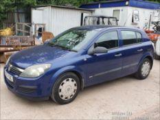 05/55 VAUXHALL ASTRA LIFE TWINPORT - 1598cc 5dr Hatchback (Blue, 129k)
