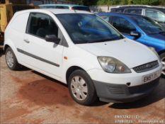 08/57 FORD FIESTA TDCI - 1399cc 3dr Van (White, 147k)
