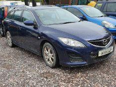 11/11 MAZDA 6 TS D 163 - 2183cc 5dr Estate (Blue)