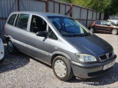 05/05 VAUXHALL ZAFIRA LIFE 16V AUTO - 1796cc 5dr MPV (Grey, 110k)
