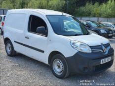 15/15 RENAULT KANGOO ML19 DCI - 1461cc 5dr Van (White, 187k)