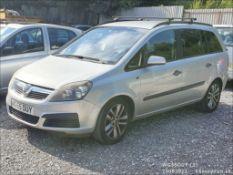 05/55 VAUXHALL ZAFIRA LIFE - 1598cc 5dr MPV (Silver, 99k)