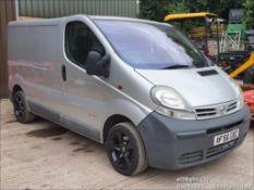 06/56 NISSAN PRIMASTAR SE DCI100 SWB - 1870cc Van (Silver, 106k)