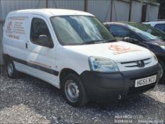 05/55 PEUGEOT PARTNER LX 600 D - 1868cc Van (White, 149k)