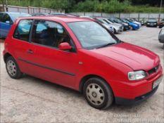 1999 SEAT AROSA 1.0 MPI - 998cc 3dr Hatchback (Red, 79k)