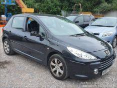 07/07 PEUGEOT 307 S - 1587cc 5dr Hatchback (Black, 117k)