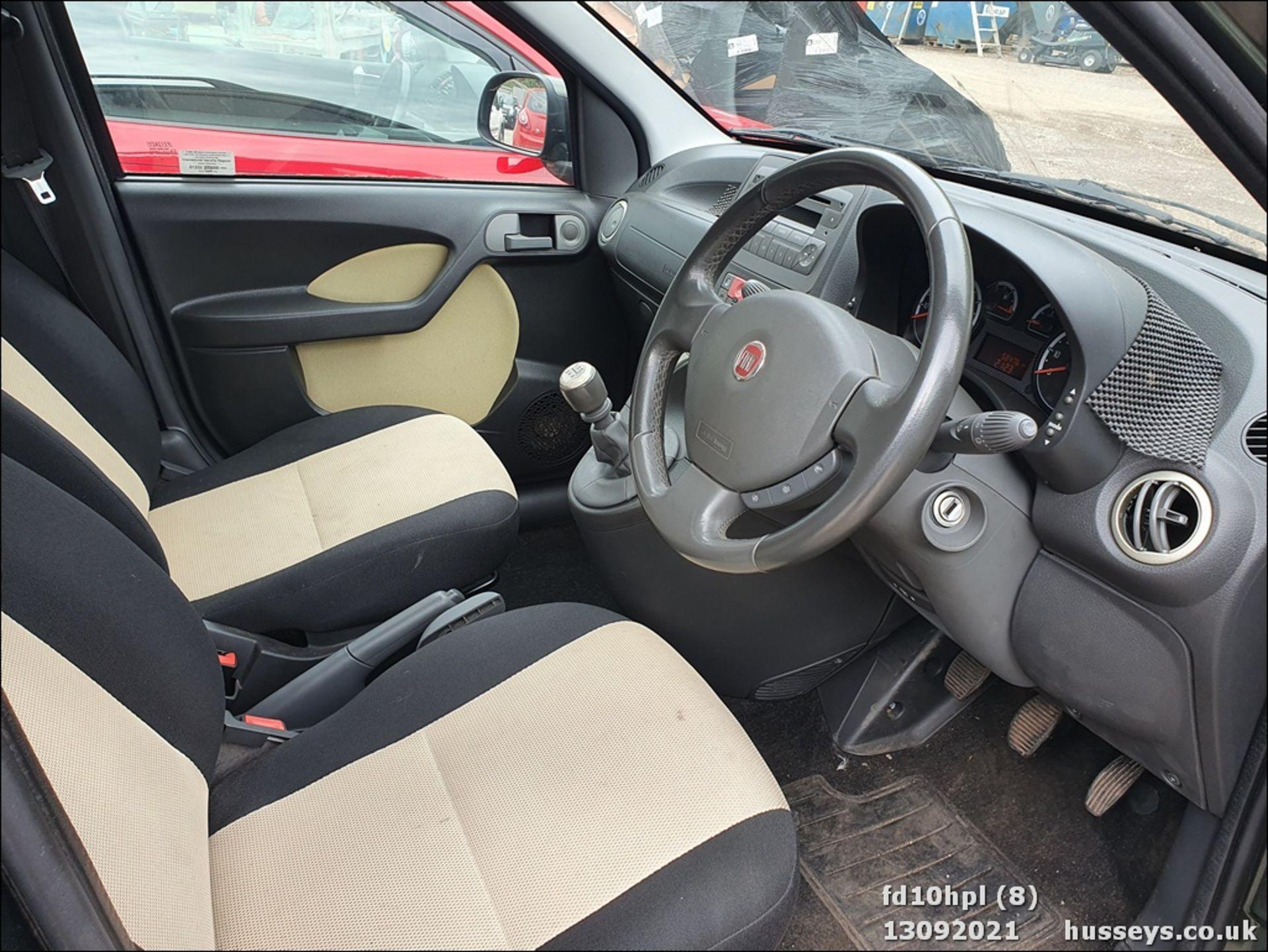 10/10 FIAT PANDA CROSS M-JET 4X4 - 1248cc 5dr Hatchback (Green, 58k) - Image 8 of 15