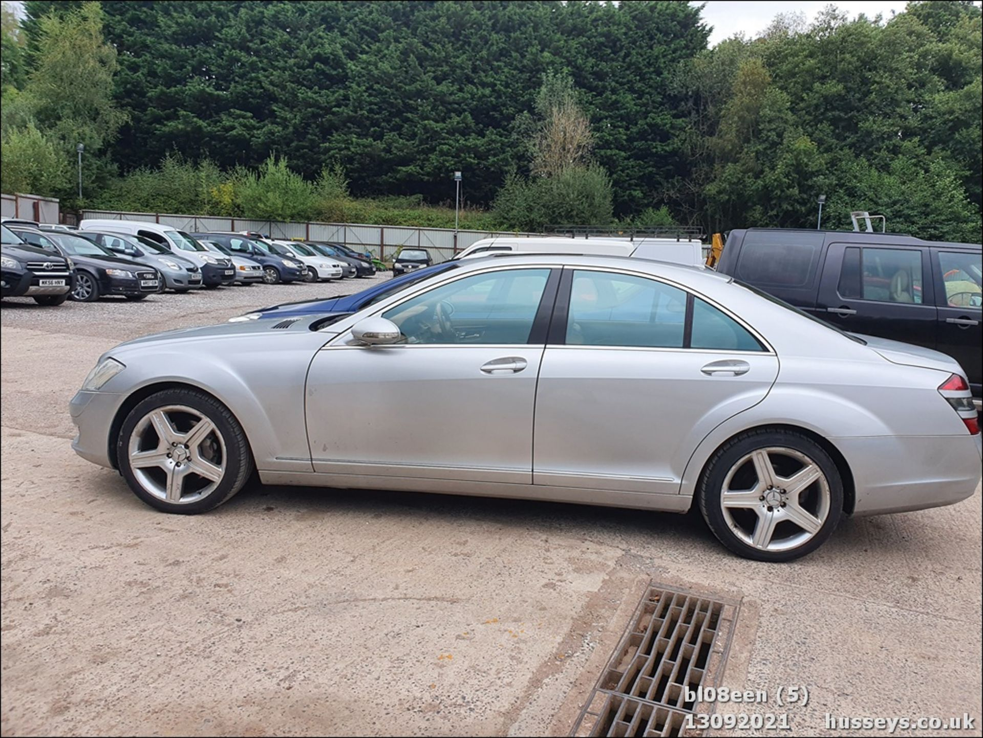 08/08 MERCEDES S320 CDI AUTO - 2987cc 4dr Saloon (Silver, 205k) - Image 5 of 16